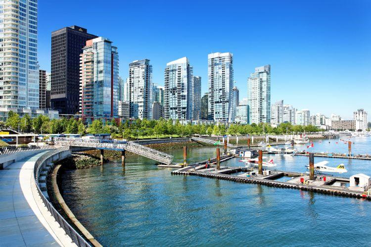 Quartier de Coal Harbour à Vancouver